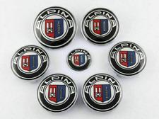 7pcs For Alpina Emblem Wheel Cap Badge Sticker set 2x 82mm, 4x 68mm, 1x 45mm