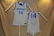 KENTUCKY WILDCATS sewn #14 Nike Elite BASKETBALL JERSEY  2XL NWT $75 retail gray