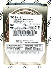 Toshiba 80GB MK8052GSX SATA (HDD2H05 H ZK01 T) Laptop HardDrive WIPED & TESTED!