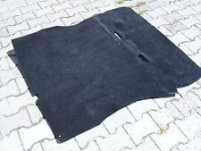 VW Golf 2 Kofferraum Teppich Kofferraummatte Velours schwarz GTI GTD G60  selten