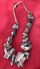 Very Special Aztec Healer Old PreHispanic Xoloitzuintle Bone & Seed Pod Necklace