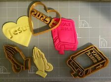Christening Cookie Cutter Set