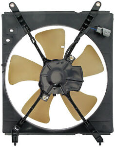 A/C Condenser Radiator Fan Assembly (Dorman 620-517) w/ Shroud, Motor & Blade