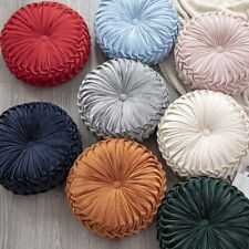 Round Pumpkin Tatami Seat Cushion Chair Throw Pillow Bed Sofa Room Home Decor