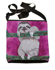 Sloth Small Cross Body Bag - Support  Wildlife Conservation, Read How!
