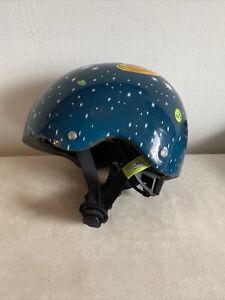 Baby Nutty Nutcase Street Sport Helmet XXS Outer Space Model Pre-owned