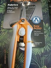 FISKARS Micro-Tip Spring Action Scissors Softgrip Touchpoints Lifetime Warranty