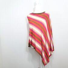 Focus 2000 Womens Dolman Cape Size M Striped NWOT