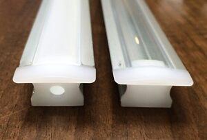 Recessed 15mm Aluminium Profile/Extrusion With Cover