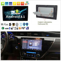 "Single Din Android 8.1 10.1"" Car Stereo Radio GPS WiFi 3G 4G BT DAB Mirror Link"