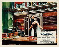 Dracula - Hammer House Film 1958 Movie Poster Horror Canvas 50s Wall Art Print