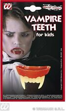 VAMPIRE TEETH FOR KIDS - FANCY DRESS (HALLOWEEN) CHILDREN VAMPIRE DRACULA