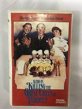 Killing The Great Chefs Ex-Rental Vintage Big Box VHS Tape English dutch subs