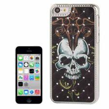 Hardcase Bling Diamond für Apple iPhone 5C Totenkopf Etui Hülle Tasche Case
