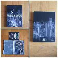 WATCH DOGS  COLLECTORS EDITION EXCLUSIVE STEELBOOK PS3 PAL ITA ITALIANO