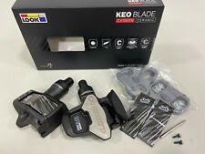 Look Keo Blade Carbon Ceramic 12/16NM Tour De France Chromoly Road Pedal Silver