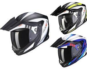 Scorpion ADX-1 Lontano Enduro Flip up Helmet Motorcycle off Road Crash Matte