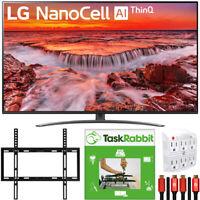 """LG 65"""" Nano 8 Series 4K Smart UHD NanoCell TV +TaskRabbit Installation Bundle"""