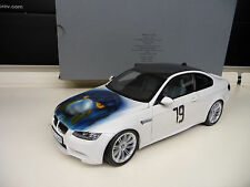 BMW M3  Coupe E92  white  Airbrush  Dealer Edition Kyosho 1:18  FREE SHIPPING