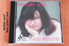 Haydée Alba - Tango Argentin - 19 titres - Boitier neuf - CD Ocora Radio France
