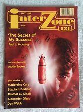 InterZone Magazine #131 May 1998 UK Sci-Fi Fantasy Magazine Used Pics