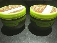Lot de 2 produits coiffure macadamia masque deep repair 500 ml cheveux abimes