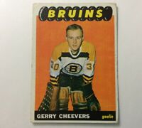 1965-66 Topps #31 GERRY CHEEVERS ROOKIE CARD~EX+**NO CREASES~NO WRINKLES**