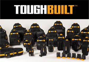 Toughbuilt Tool Pouches - Contractors, Drill, Electrical, Framers, Supply