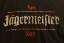 "Jagermeister T Shirt..Dark Grey - ""fun key"" - Worn Look - Men's Extra Large..NEW"
