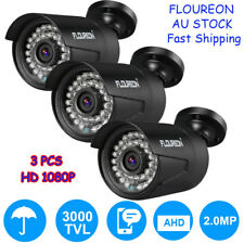 3X 1080P HD Wireless Monitor System CCTV Security DVR Video Home Surveillance AU