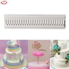 3D Lace Bow Silicone Fondant Mold Cake Border Decoration Chocolate Baking Mould