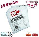 Numatic Henry Hetty Hoover Vacuum Cleaner Microfibre Dust Bags x 10