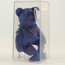 Authenticated TY Beanie Baby - BILLIONAIRE Bear #7 (Signed by TY Warner - #'ed)