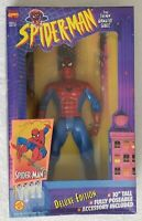 SPIDER-MAN THE ANIMATED SERIES WEB HANGING SPIDER-MAN DELUXE EDITION 10 INCH