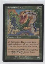 2000 Magic: The Gathering - Invasion Booster Pack Base #211 Serpentine Kavu q0l