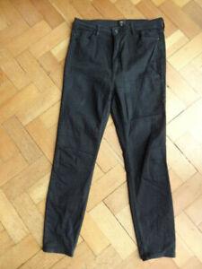 (210MAY) Size 18 *RIVER ISLAND* Cute black denim jeans ladies/womens