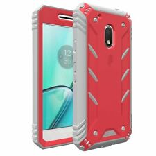Poetic Revolution Premium Rugged Hybrid Case for Motorola Moto G Play 2016 Pink