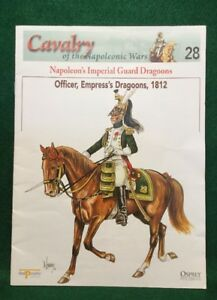 DEL PRADO COLLECTION #28 FRENCH OFFICER EMPRESS'S DRAGOONS 1812 (BOOKLET)