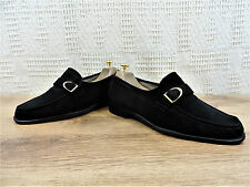Church's Mens black Suede Penny Driving Horsebit Loafers UK 8 US 9 EU 42