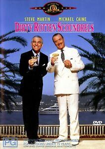 DIRTY ROTTEN SCOUNDRELS—Steve Martin—Michael Caine—One of the best comedies ever