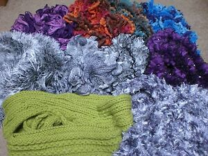 HAND KNITTED SCARVES & GLOVES