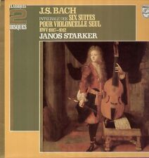Bach - 6 Cello Suites, Suiten für Violoncello, Philips 2 LP, Janos Starker