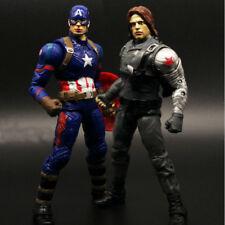 Marvel Legends Civil War Captain America Winter Soldier Action Figure 2pcs/set
