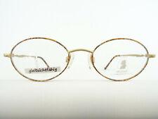 Titan Brillen ovale/runde Brillenfassungen von NEOSTYLE Mozart gold-braun Gr. M