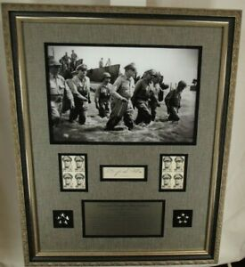 General Douglas MacArthur Signed Autograph 'I Shall Return' WW II Framed Display