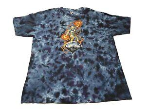 2006 Silver Surfer Marvel Comic Graphic Promo Tee Shirt Size 2XL Tie Dye Sundog