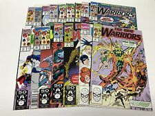 THE NEW WARRIORS #5-20 (MARVEL/TV SHOW COMING/0816230) COMPLETE SET LOT OF 16