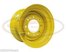 John Deere 8.25x16.5 10 x 16.5  skid steer loader wheel rim tire new 8 lug nut