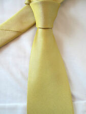 BHS YELLOW 3.5 INCH POLYESTER NECK TIE