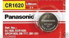 Panasonic 3 Volt Lithium Button Cell Watch Battery (ECR1620 CR1620)